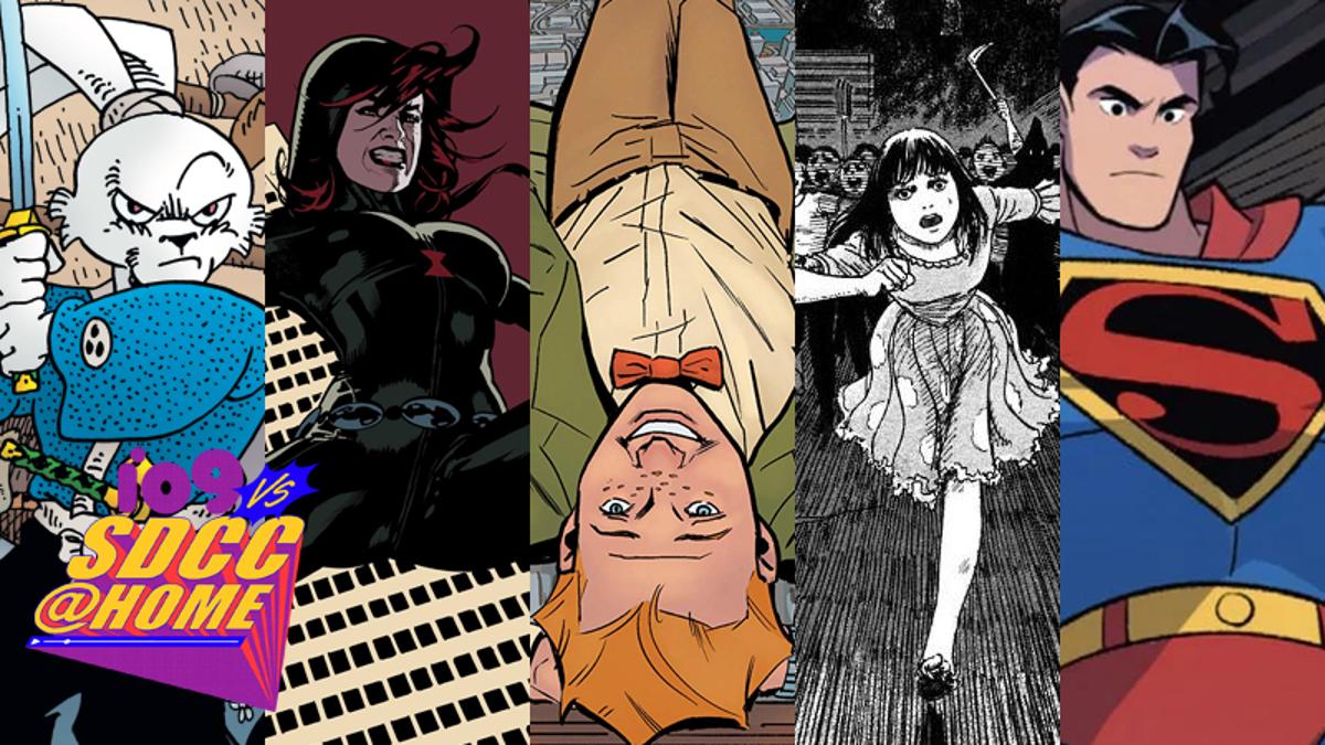 SDCC 2021's Eisner Award Winners: Klan Smashing, Rabbit Samurai, & More