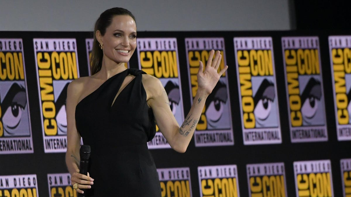 Angelina Jolie Is Spending A Lot of Time With The Weeknd