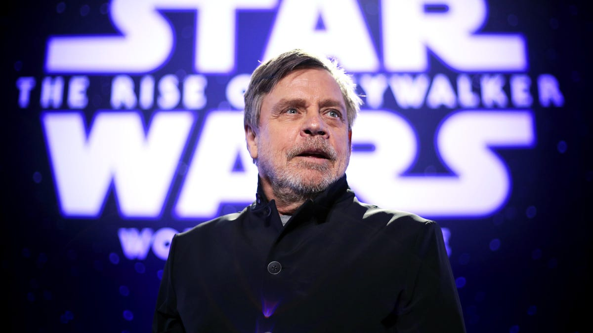 Mark Hamill says he's secretly been in every Star Wars sequel