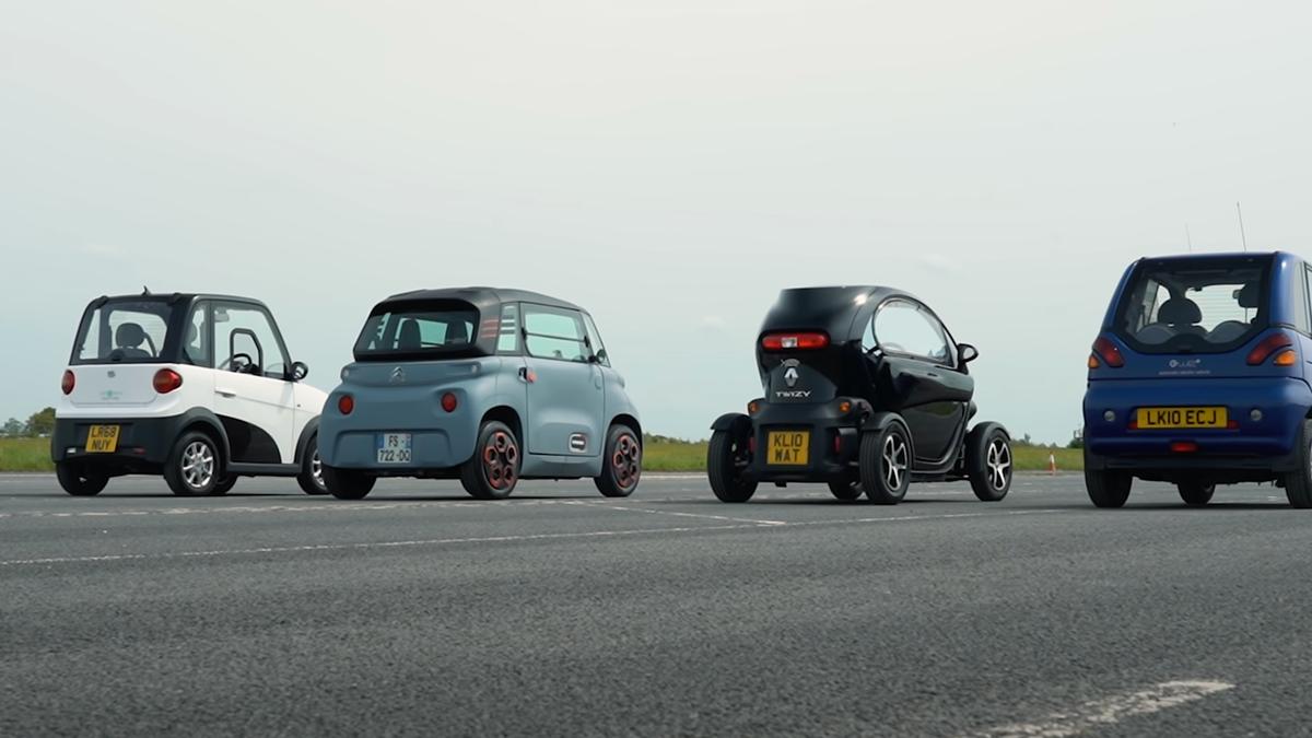 Setzen Sie Ihre Wetten: Welcher City EV wird der langsamste sein?