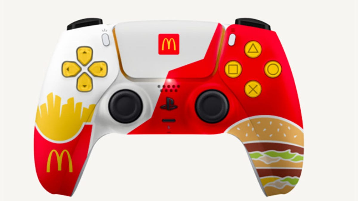 Sony Stops McDonalds From Giving Away PS5 Controllers