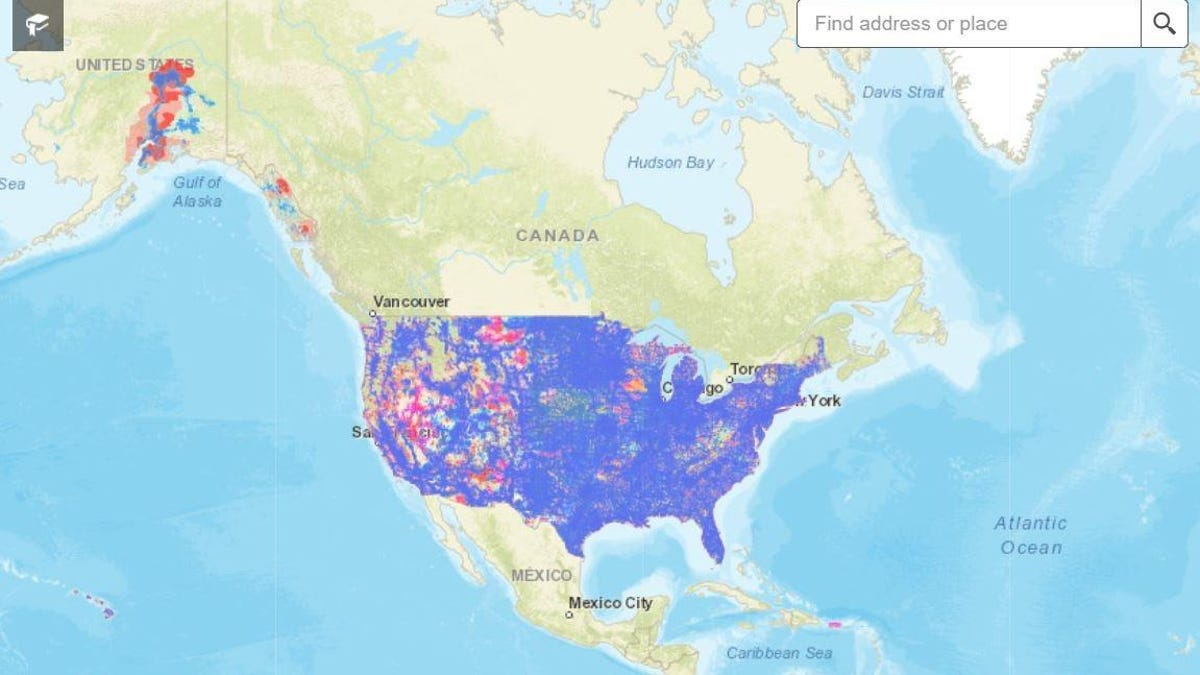 FCC Finally Debuts an Up-to-Date Mobile Broadband Map of the U.S. thumbnail