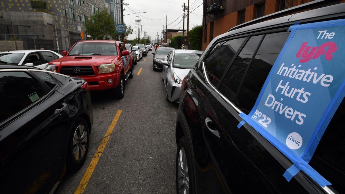 Uber und Lyft's Proposition 22 vor Gericht abgelehnt