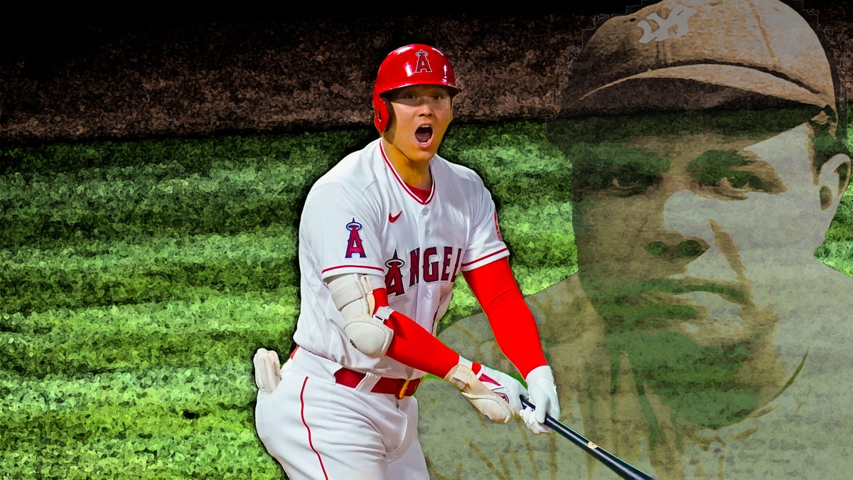 Don't miss the Ruthian show Shohei Ohtani is putting on right now