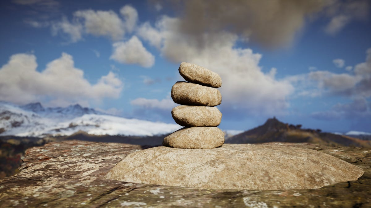 Help, I'm still stacking rocks 160 hours into Assassin's Creed: Valhalla