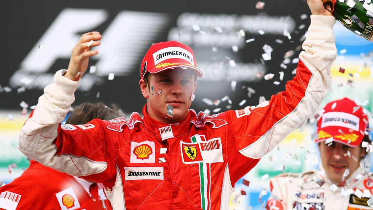 Kimi Räikkönen geht in Rente€
