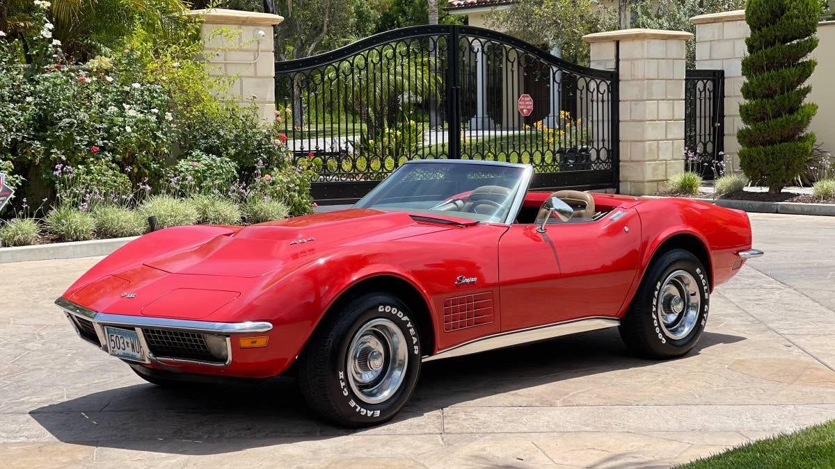 Bei $ 37.500, ist diese 1971 Chevrolet Corvette 454 die C3 zu schnappen?