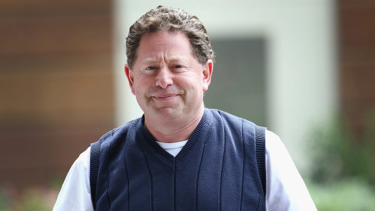Activision CEO Bobby Kotick Comments On Harassment Allegations
