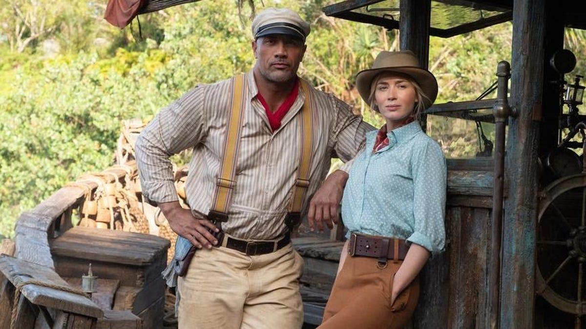 Disney's Dueling Jungle Cruise Trailers Pit Emily Blunt Against Dwayne Johnson thumbnail