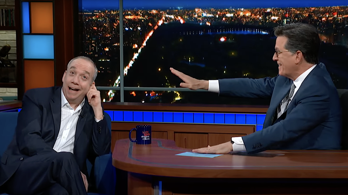 Stephen Colbert loved Paul Giamatti's Broadway debut, doesn't remember Paul Giamatti being in it
