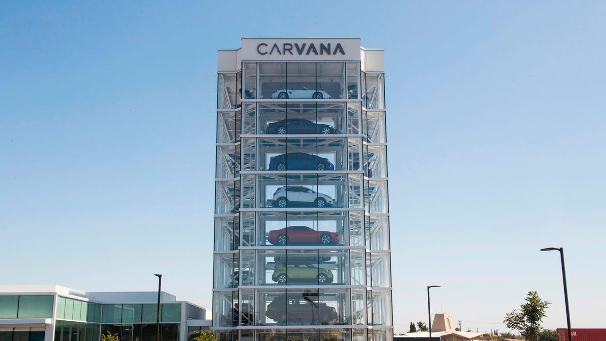 Carvana stimmt der Schließung seines Standorts auf dem Messegelände von L.A. County zu