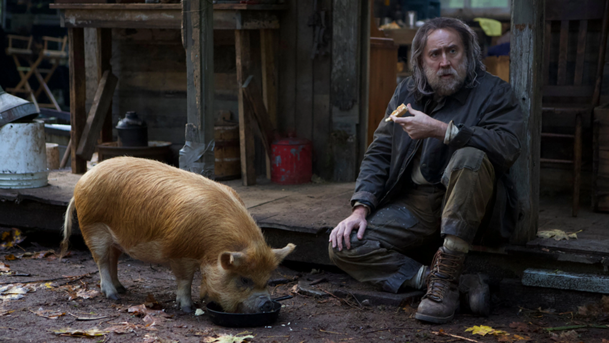 Nicolas Cage is on the hunt for a hog in the Pig trailer - The A.V. Club
