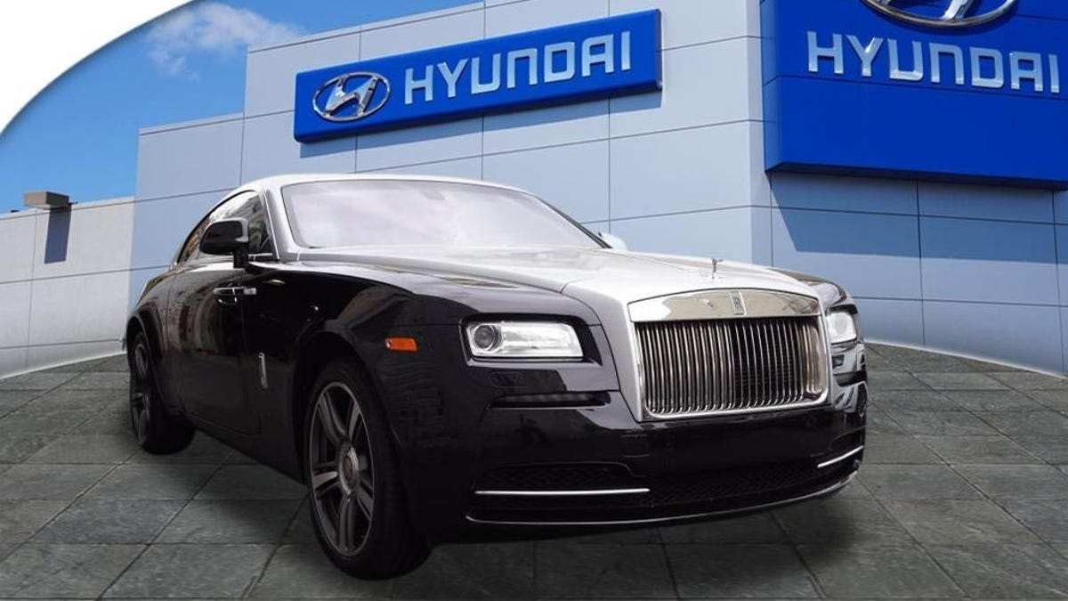 That Rolls-Royce From The Hyundai Dealer Has A Pretty Sketchy History