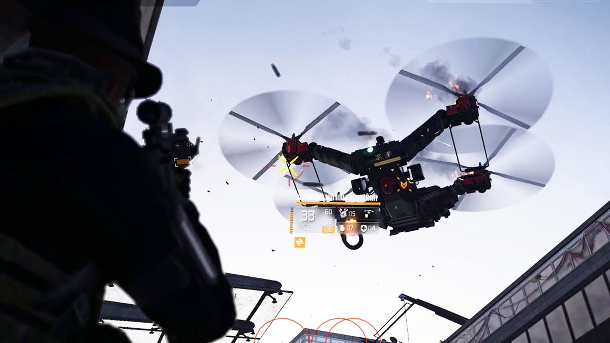 The Division 2's Massive Drones Are Breaking The Game Right Now