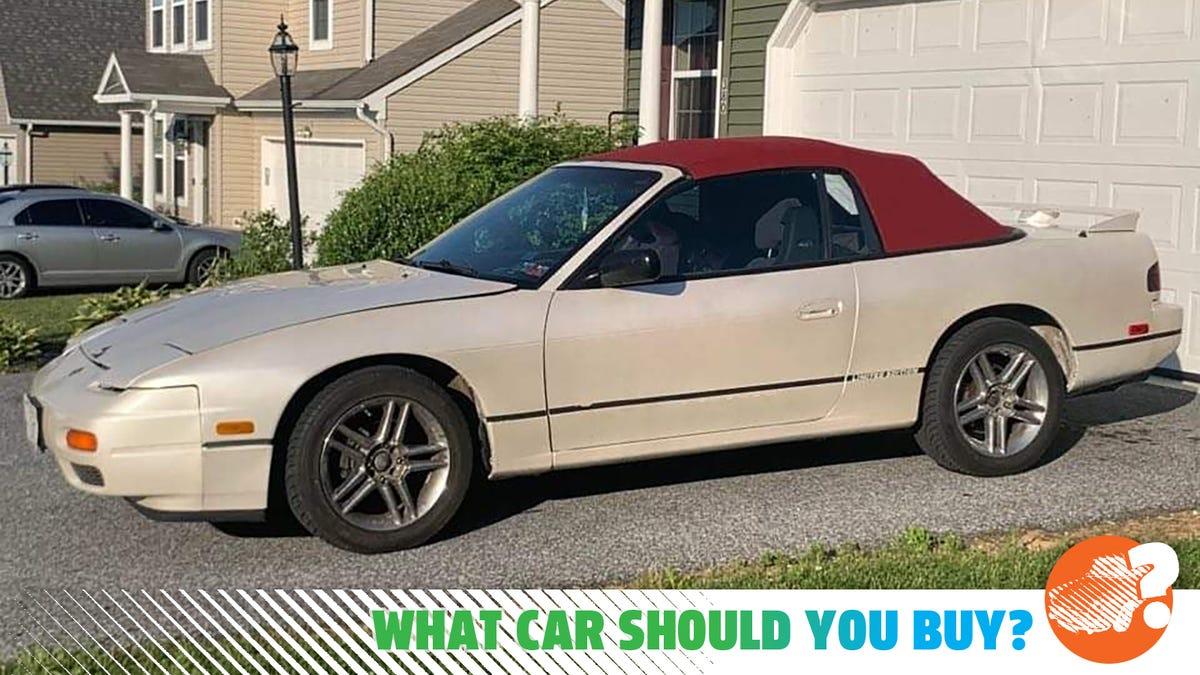 """Mein """"Abzocke aus der Hölle"""" 240SX starb wieder Ich brauche eine sichere und Spaß Familie Auto! Welches Auto soll ich kaufen?"""