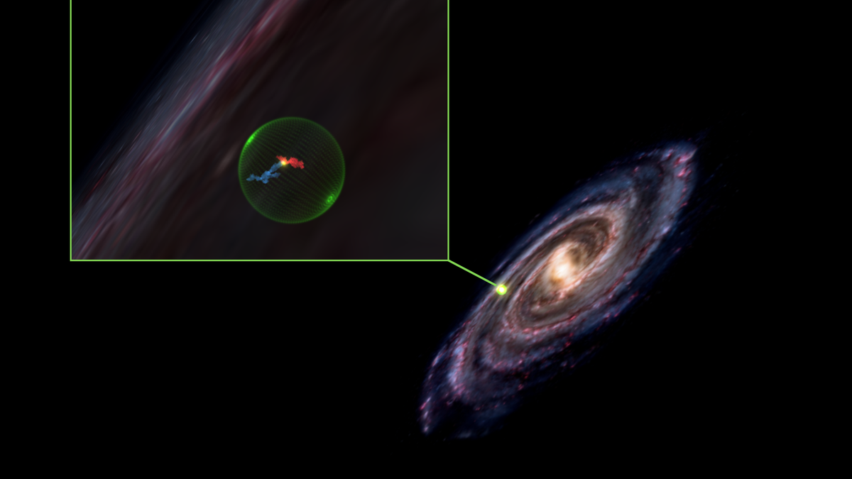 Astronomers Find Massive Space 'Cavity' Possibly Left Behind by Explosion - Gizmodo