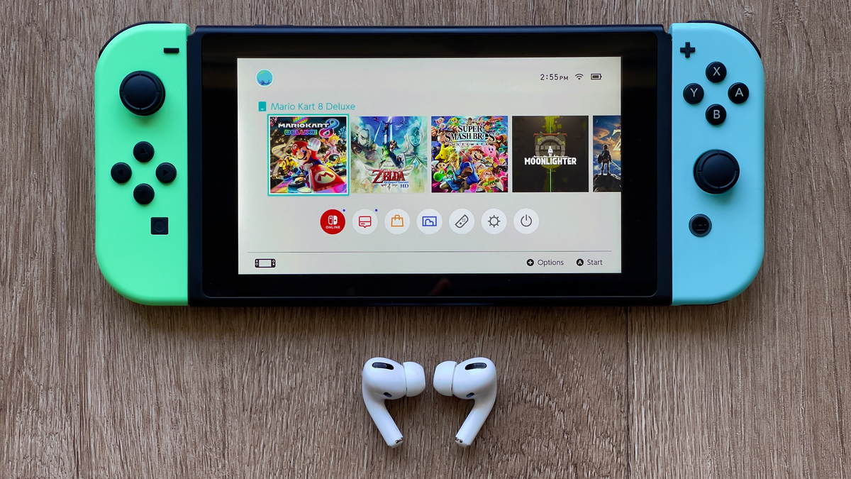 How to Finally (Easily) Connect AirPods to Your Nintendo Switch