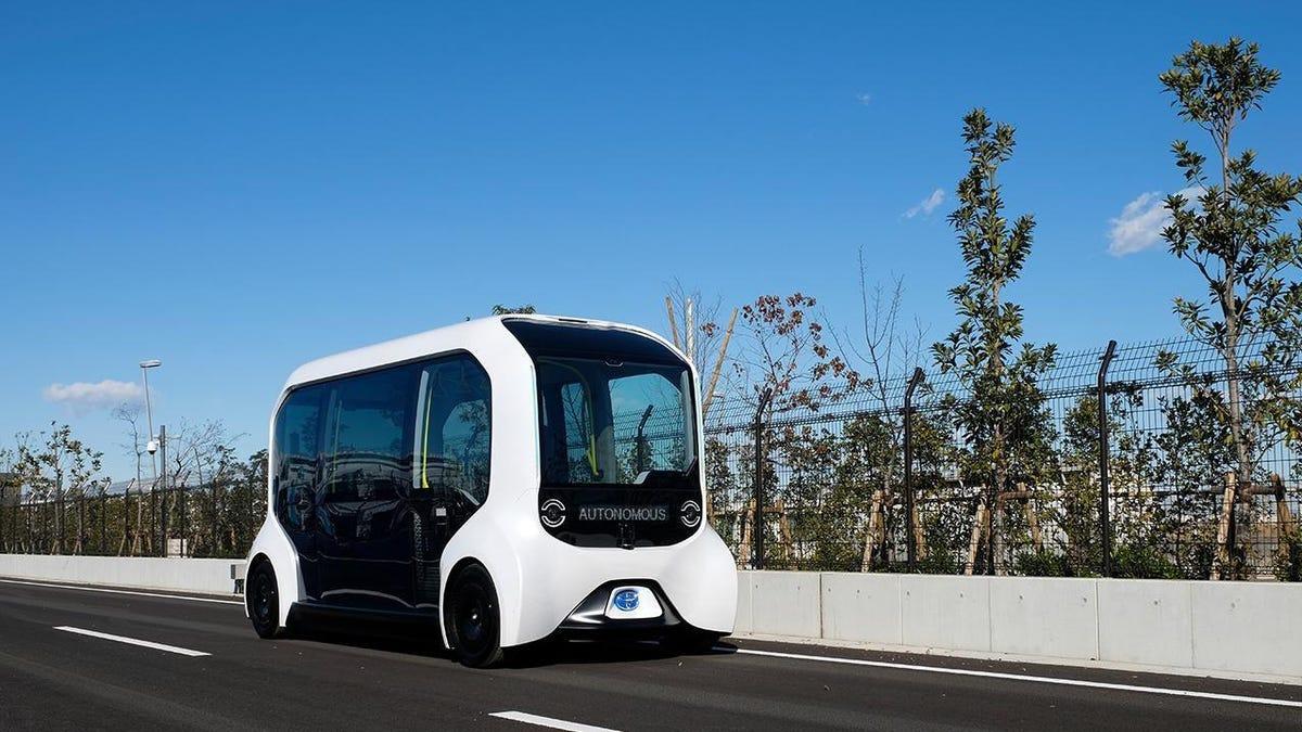 Toyota stellt seine autonomen e-Palette-Fahrzeuge nach einem Unfall im Olympischen Dorf ab€