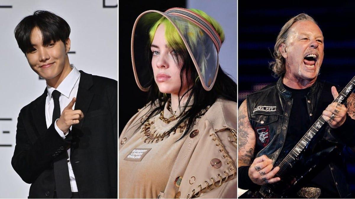 The 2021 Global Citizen Live stream will feature BTS, Billie Eilish, and Metallica