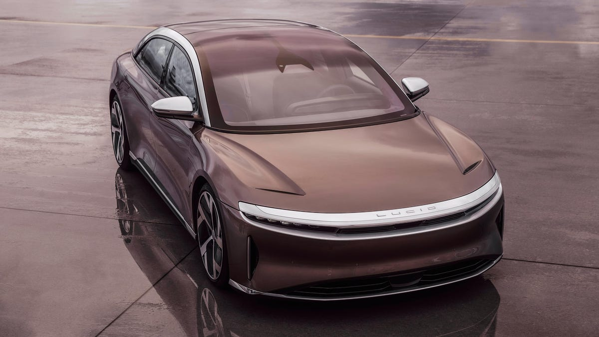 Lucid Is Trying To Outdo Tesla On Tech