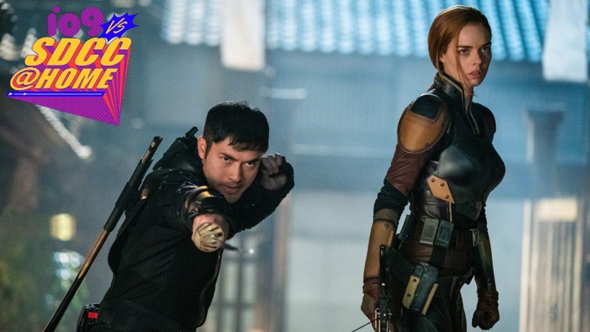 photo of Snake Eyes: G.I. Joe Origins Just Kicked Off SDCC 2021 image