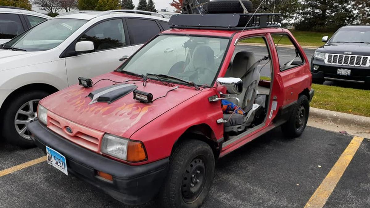 Haben Sie jemals Ihr eigenes Auto ruiniert?€