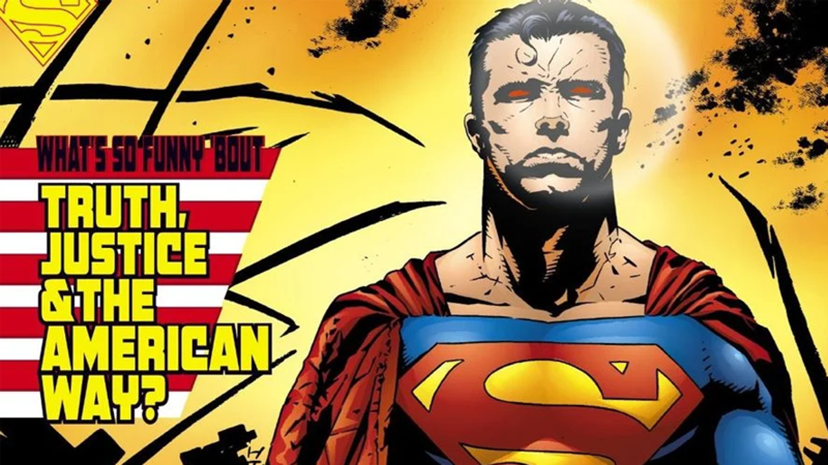 Superman's No Longer Fighting For 'The American Way'