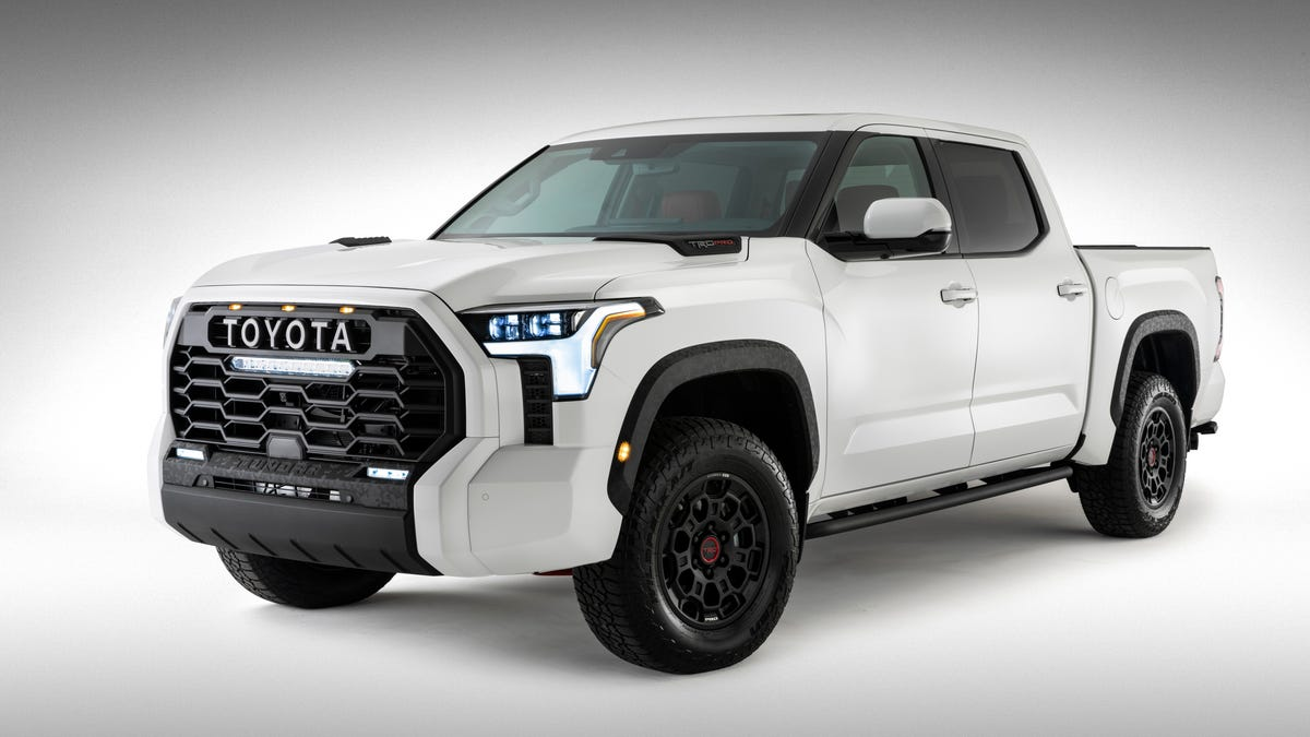 Toyota Says Screw It And Shows The Full 2022 Tundra