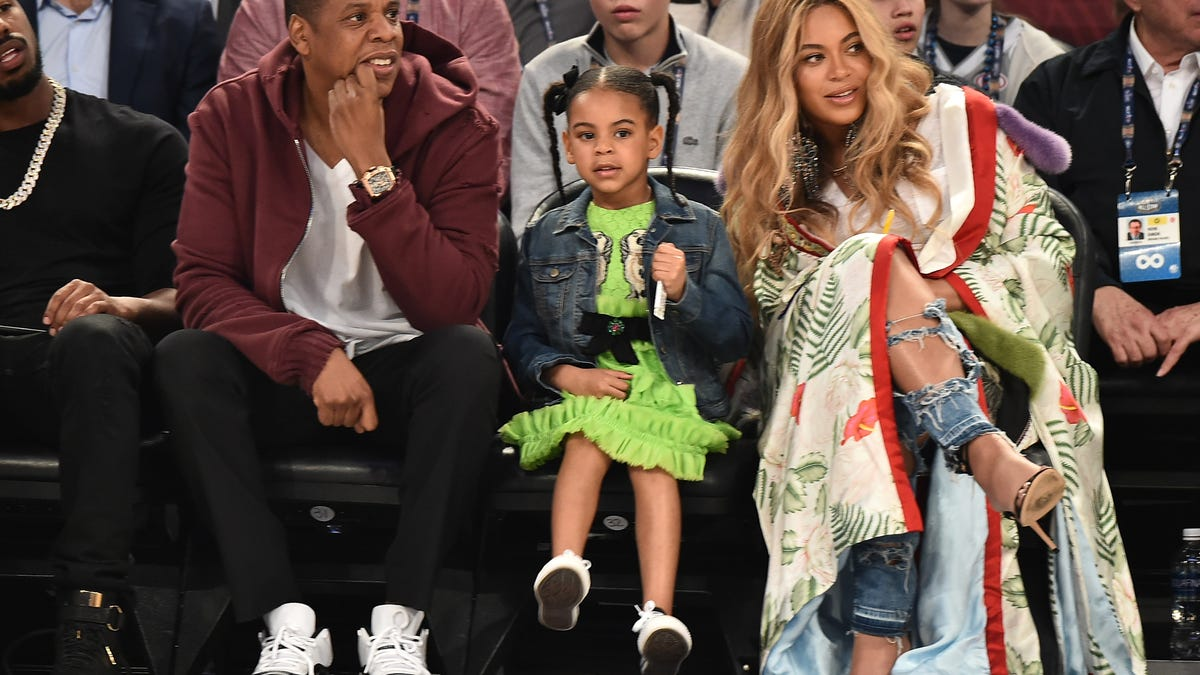 Beyonce And Jay Z S Twins Sir And Rumi Carter S Photo Revealed