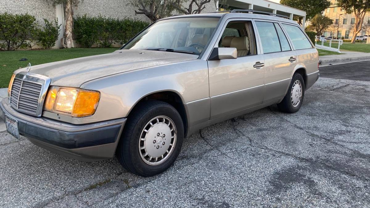 At $4,500, Is Buying This 1990 Mercedes-Benz 300TE 4Matic A Deal?