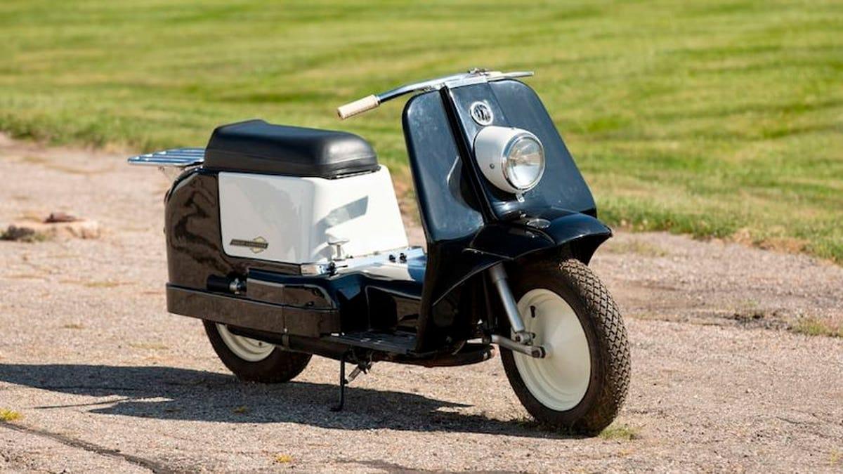 Harley-Davidsons einziger Motorroller kommt zur Auktion