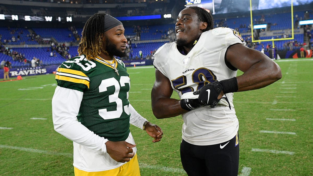 Aaron Jones' twin brother is getting another shot to play in Green Bay