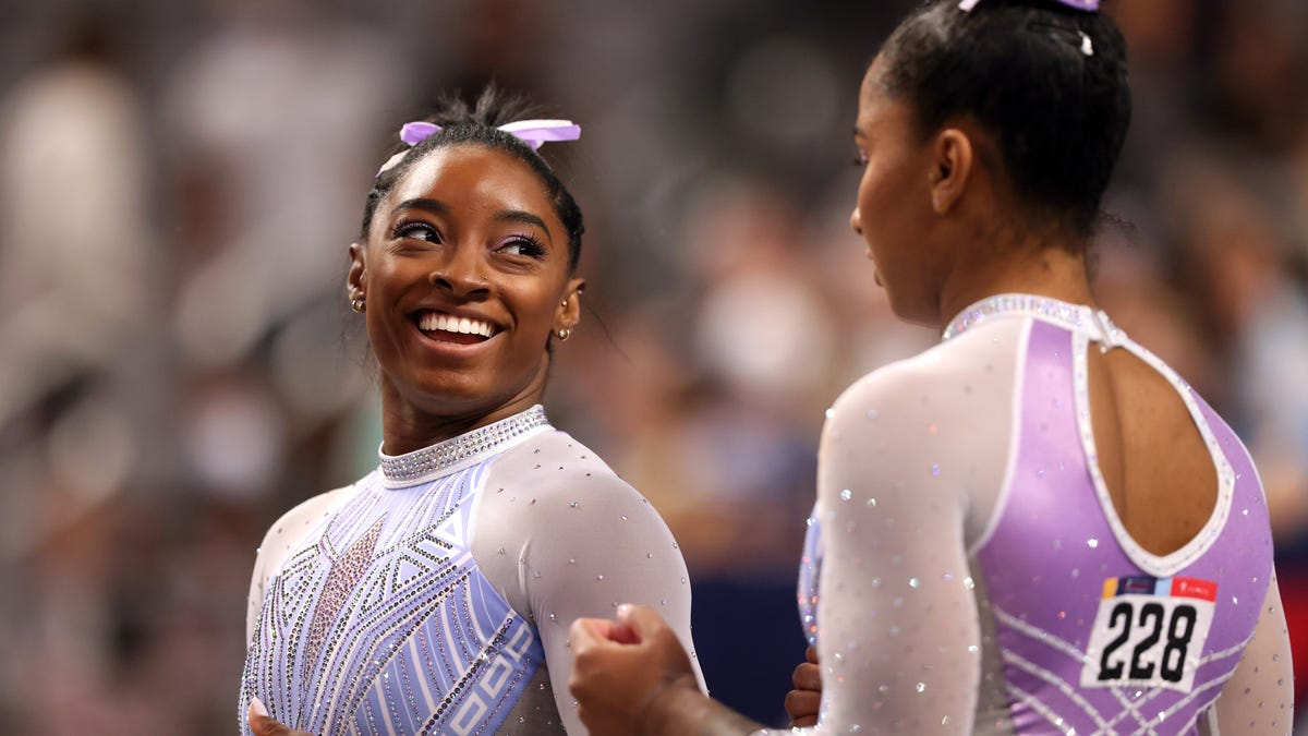 Simone Biles Simply Cannot Stop Making History