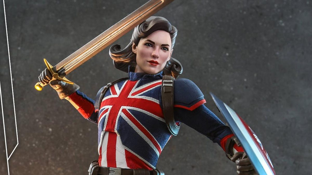 What If... Marvel's Captain Carter Had Her Own Hot Toys Figure? thumbnail