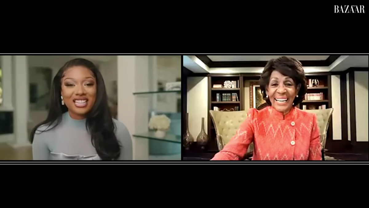 'I Felt Seen': This Conversation Between Megan Thee Stallion and Rep. Maxine Waters Made Our Week - The Root