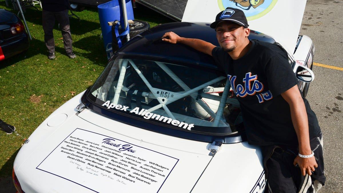 Rennfahrer Brad Perez über das, was man braucht, um sich sein erstes ARCA-Rennen zu sichern