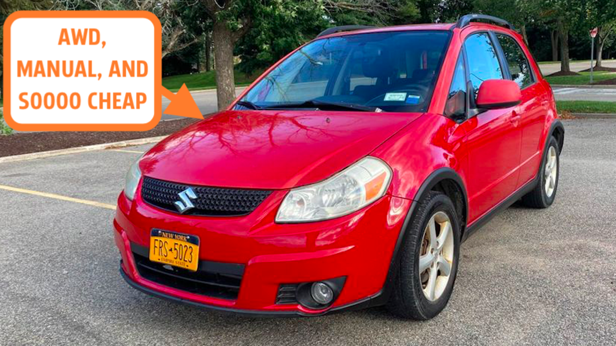 Why The Suzuki SX4 May Be The Ultimate Cheap Winter Car