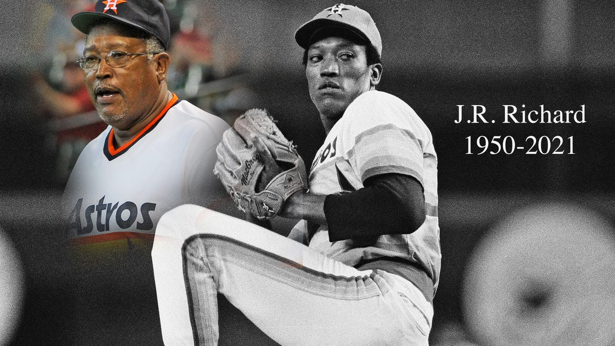 J.R. Richard was so much more than a pitcher who lost it all in the blink of an eye