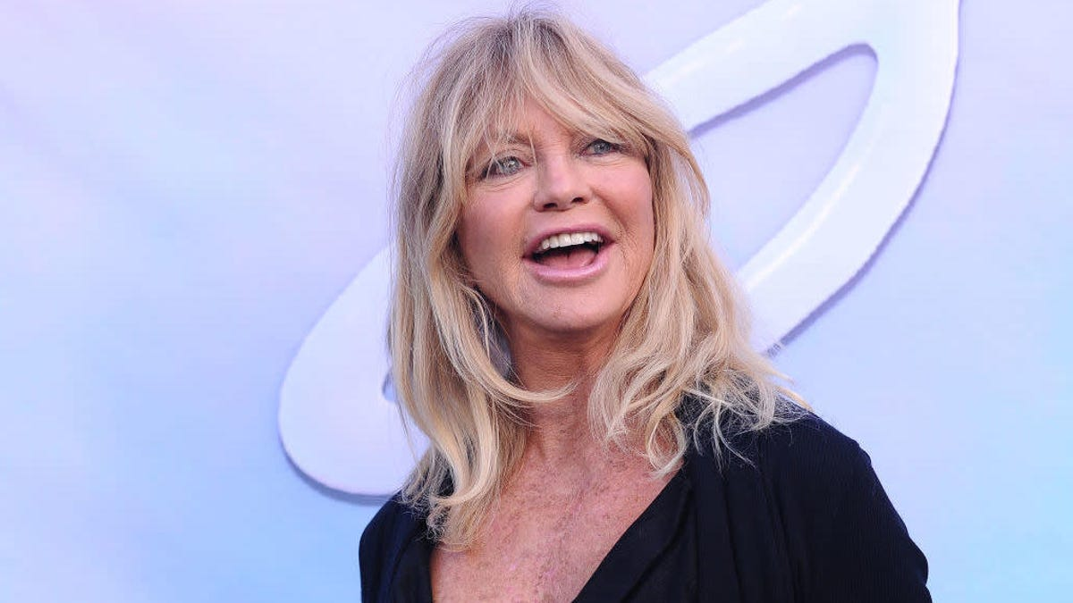 We question Goldie Hawn's dishwashing technique, but not her skills