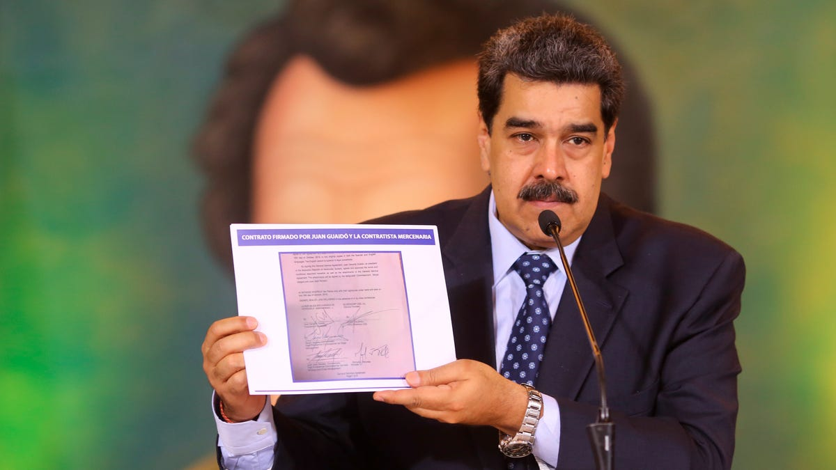 Bonehead Mercenaries Behind Failed Coup in Venezuela Plagiarized Website