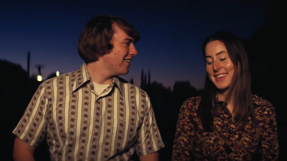 Alana Haim and Cooper Hoffman fall in love in Licorice Pizza trailer
