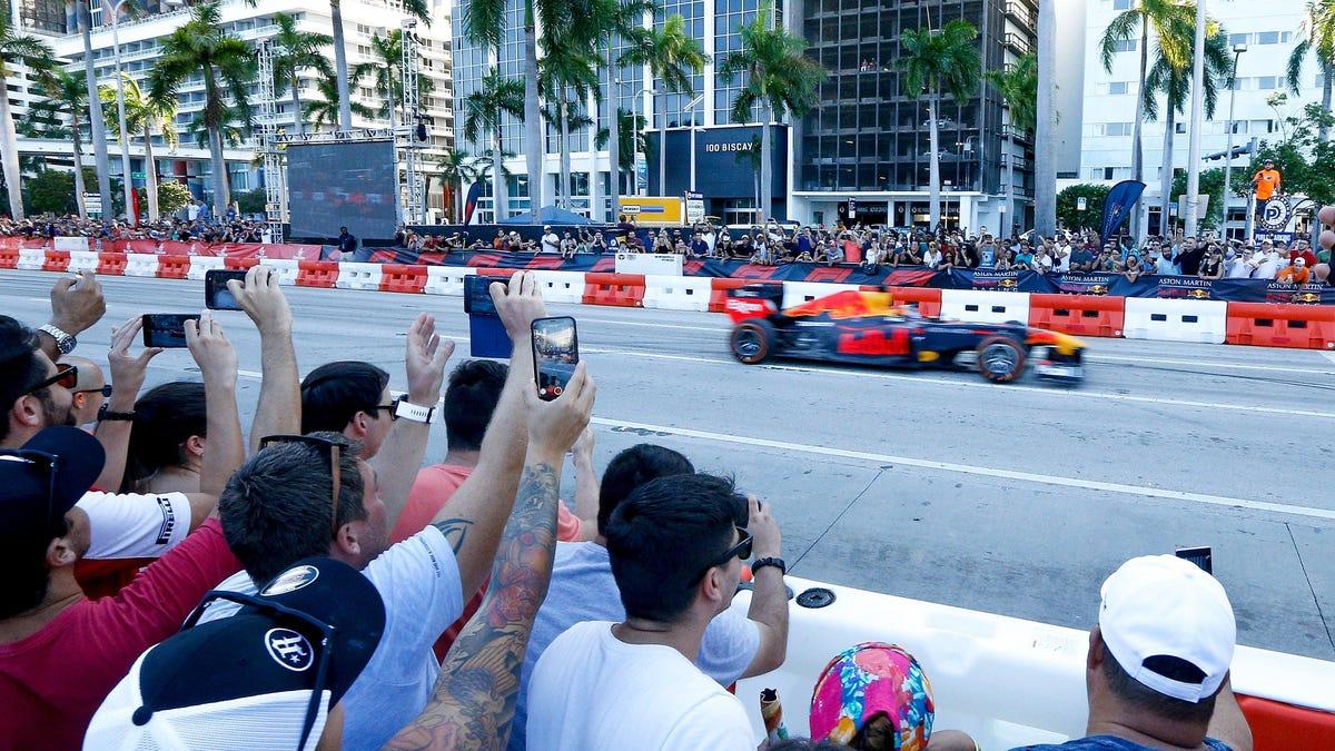 Die F1-Rennstrecke in Miami möchte in dem sehr kleinen Zeitfenster, das ihr zur Verfügung steht, auch andere Veranstaltungen durchführen