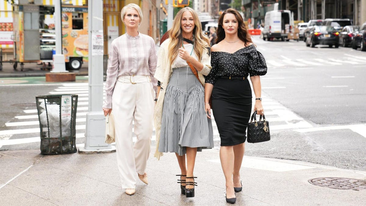 This Sex and the City Reboot Photo Feels Like a Personal Attack