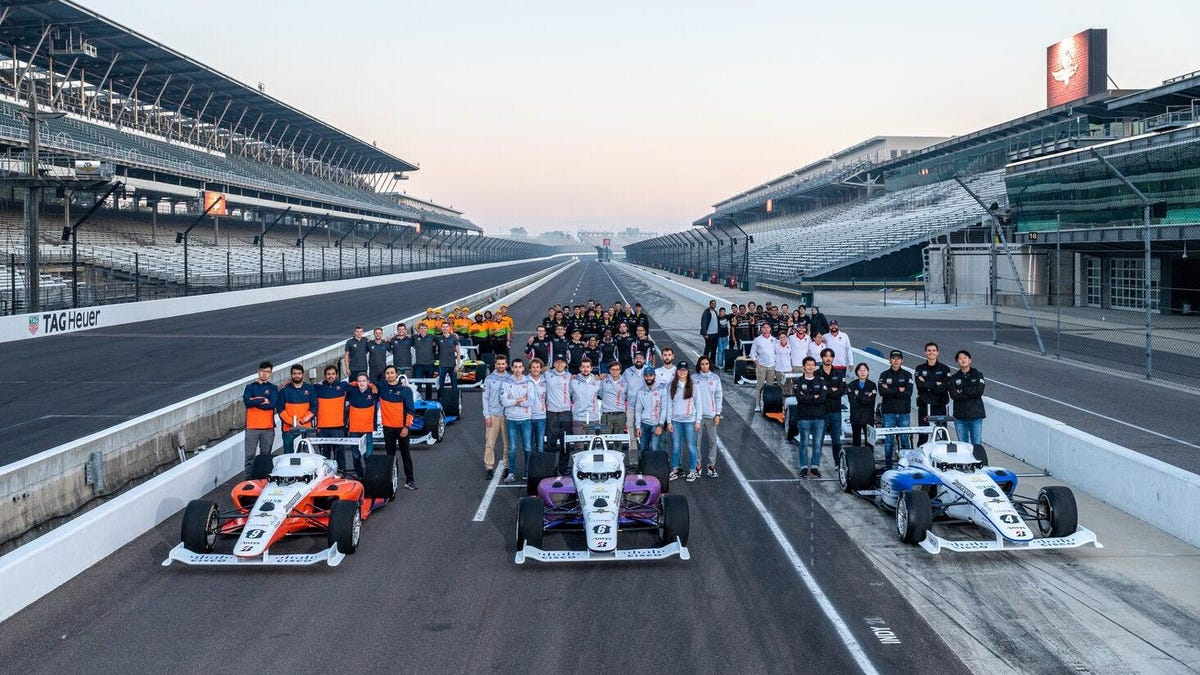 Universities Will Race Autonomous Cars Around Indianapolis Motor Speedway This Week