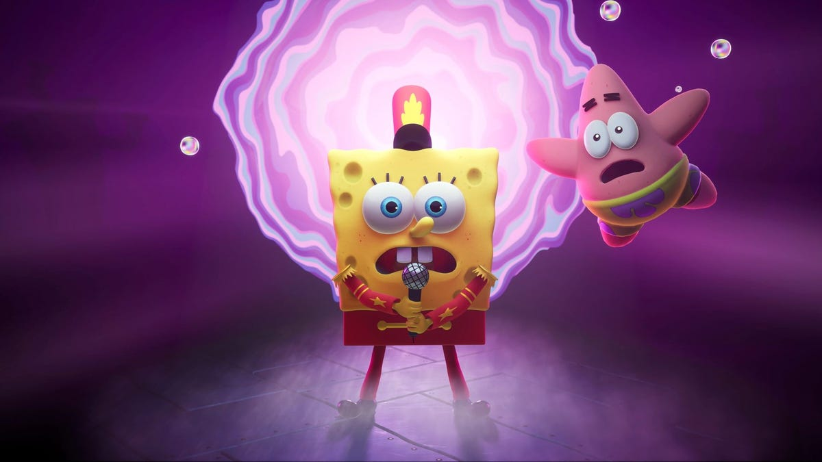 Every TV Moment I Recognized In The Cool New SpongeBob Game Reveal