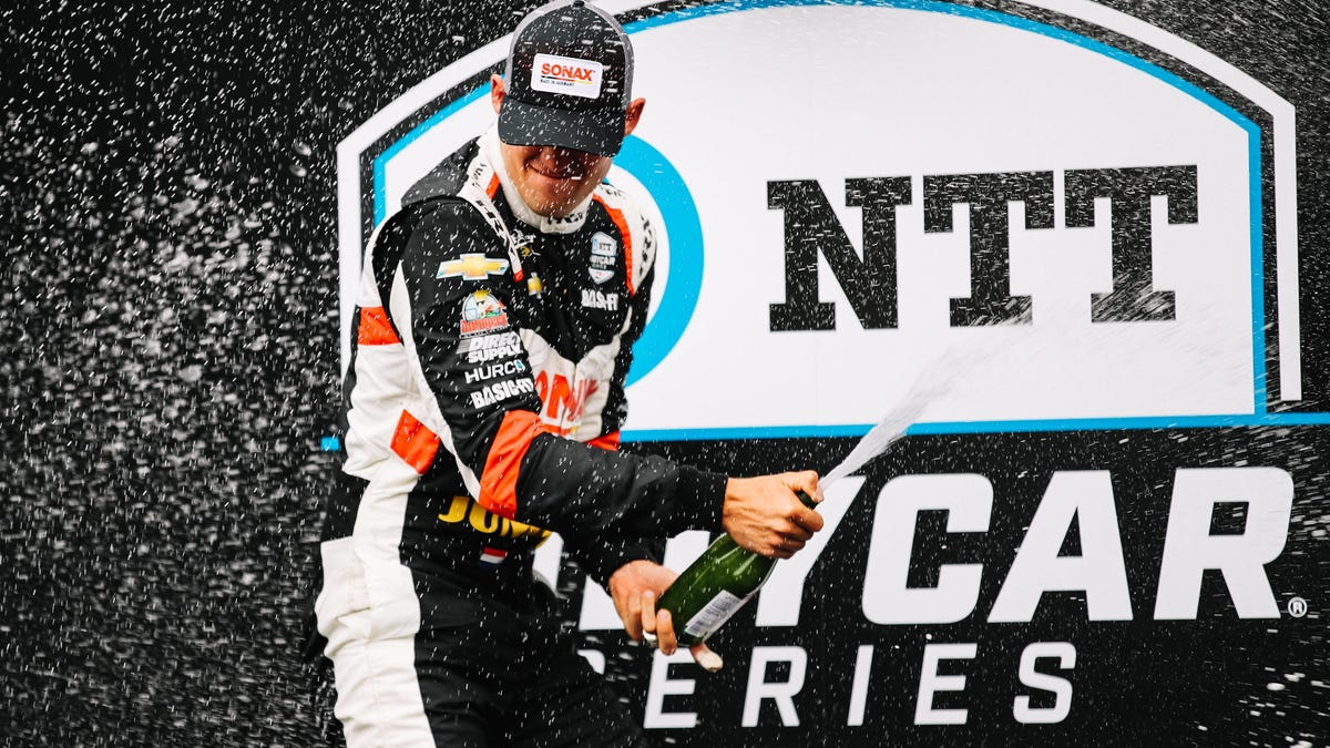 Rinus Veekay Becomes IndyCar's Fifth Winner In Five Races This Year