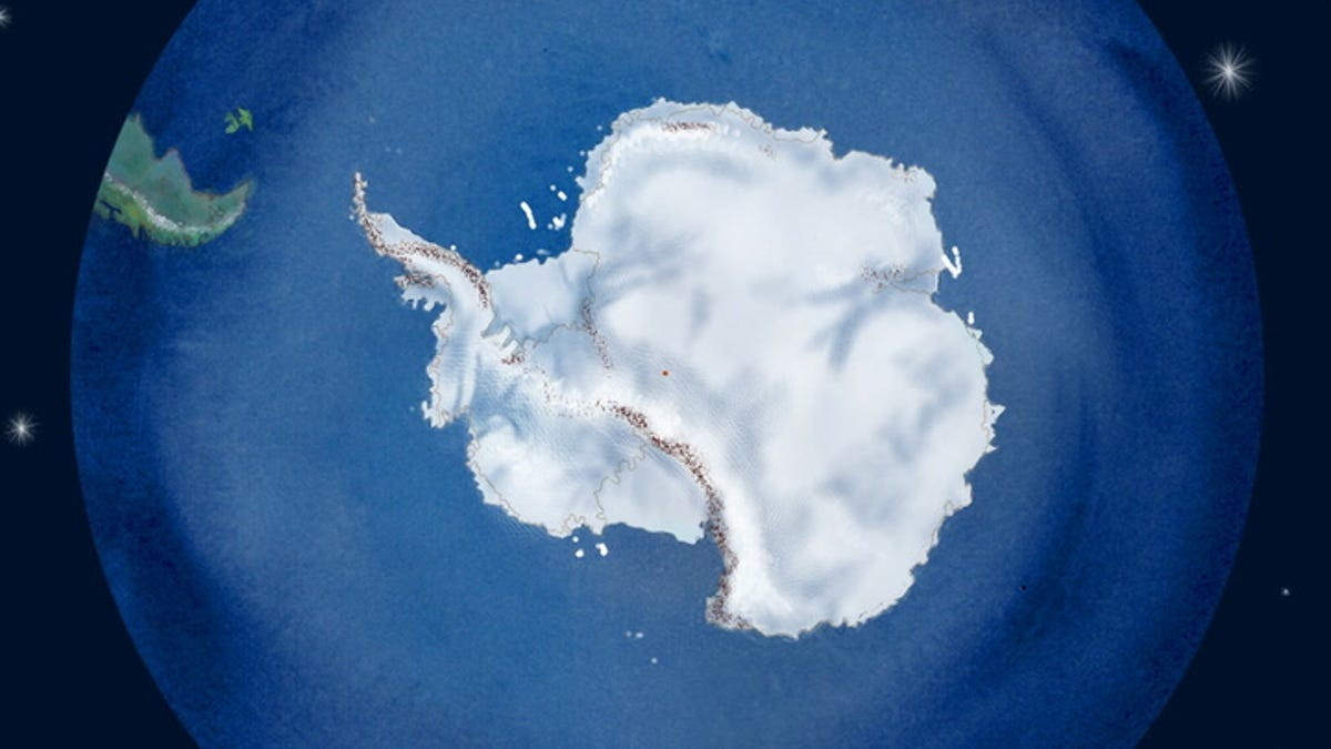 Watch 40 Years of Icebergs Breaking off Antarctica