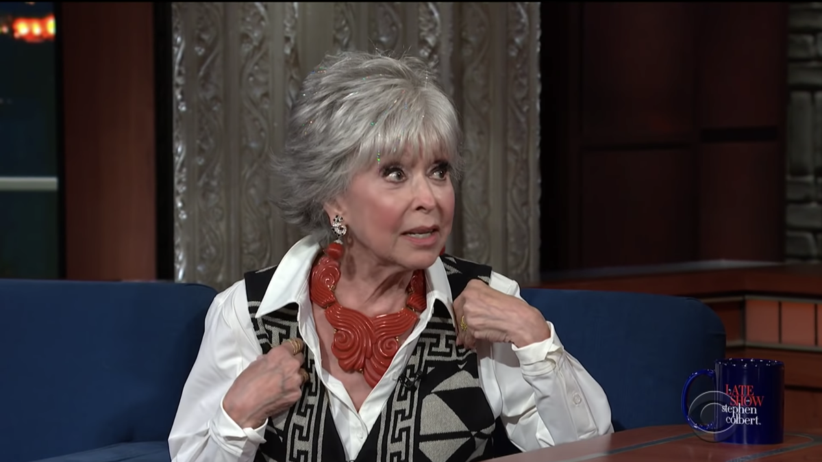 Maybe Rita Moreno Isn't the Best Person to Talk About Black Latinxs