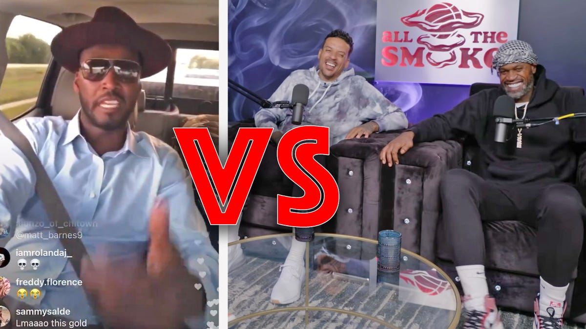 Breaking Down the Beef: Three old NBA guys go at it like drunk uncles
