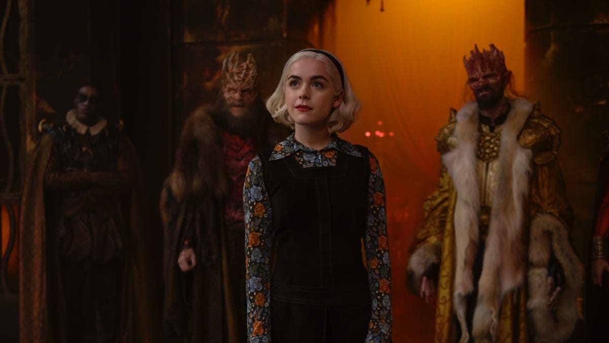 In the Trailer for Chilling Adventures Part 3, Sabrina's the Devil's Worst Nightmare